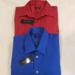 Structure Men's Slim Fit Dress Shirts